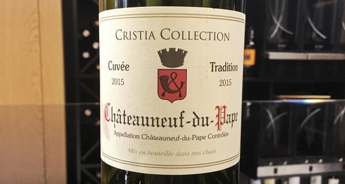 Wine_Bureau_Cristia Collection Chateauneuf-du-Pape Cuvee Tradition