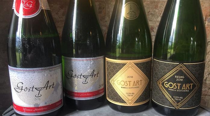 Polskie wina winnica gostchorze